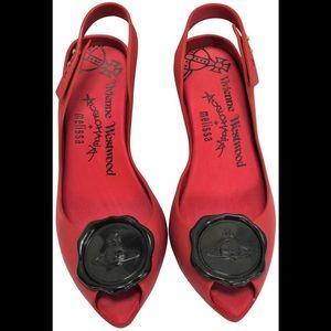 Vivianne Westwood slingback pumps